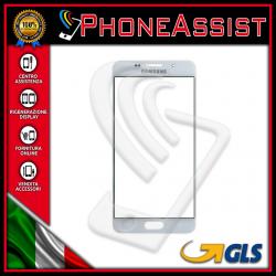 VETRO FRONTALE Samsung Galaxy A5 2016 A510F RIGENERAZIONE DISPLAY LCD Bianco