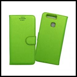 Custodia a libro con chiusura magnetica flip per Huawei P9 verde