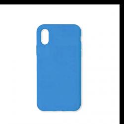 Cover morbida in silicone per Apple iPhone X e iPhone XS colore surf