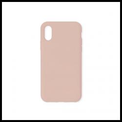 Cover morbida in silicone per Apple iPhone X e iPhone XS nude