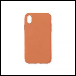 Cover morbida in silicone per Apple iPhone XR arancione