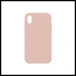 Cover morbida in silicone per Apple iPhone XR nude