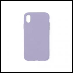Cover morbida in silicone per Apple iPhone XR viola