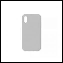 Cover morbida in silicone per Apple iPhone XS Max grigio