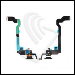 CONNETTORE RICARICA Per APPLE IPHONE X Dock Carica USB Nero / Black
