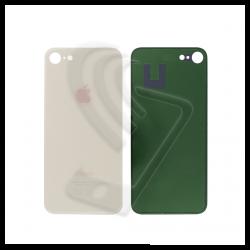 Vetro posteriore back cover oro per iPhone 8 big hole