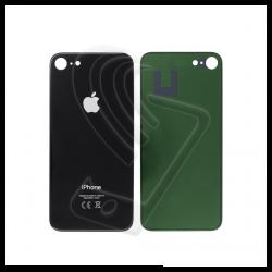 Vetro posteriore scocca per iPhone 8 big hole grigio siderale