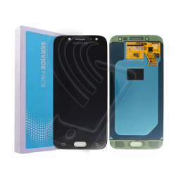 DISPLAY LCD Samsung Galaxy J5 2017 J530 SM-J530F OLED ORIGINALE SERVICE PACK Colore Nero (Black)