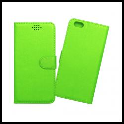 Custodia a libro con chiusura magnetica flip per Apple iPhone 6 Plus / 6S Plus verde