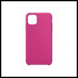 Cover morbida in silicone per Apple iPhone 11 Pro fucsia
