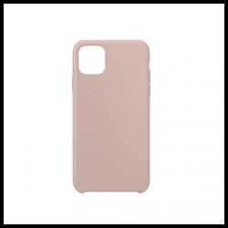 Cover morbida in silicone per Apple iPhone 11 Pro Max nude