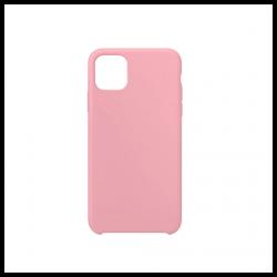 Cover morbida in silicone per Apple iPhone 11 Pro Max rosa