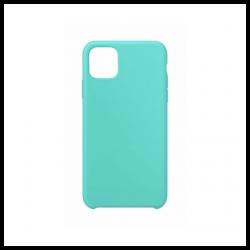 Cover morbida in silicone per Apple iPhone 11 Pro Max verde acqua