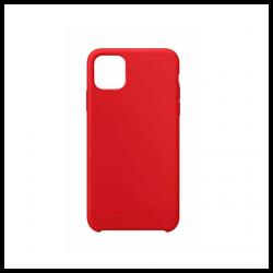 Cover morbida in silicone per Apple iPhone 11 Pro Max rosso