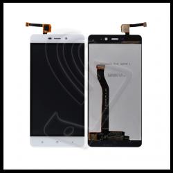 DISPLAY LCD PER XIAOMI REDMI 4 PRO E PRIME TOUCH SCREEN SCHERMO VETRO NERO Colore Bianco (White)
