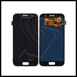 DISPLAY LCD TOUCH SCREEN PER Samsung Galaxy A3 2017 SM-A320F A320 SCHERMO VETRO Colore Nero (Black)