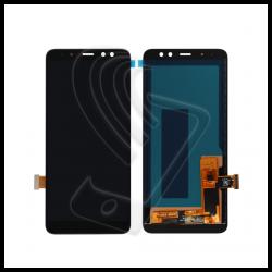 DISPLAY LCD PER Samsung Galaxy A8 2018 SM-A530F A530 TOUCH SCREEN SCHERMO NERO