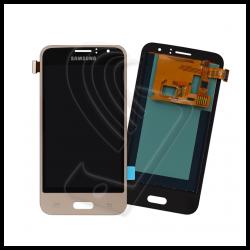 DISPLAY LCD TOUCH SCREEN PER Samsung Galaxy J1 2016 SM-J120F J120 SCHERMO VETRO Colore Oro (Gold)