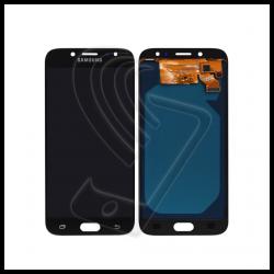 DISPLAY LCD TOUCH SCREEN PER Samsung Galaxy J7 2017 SM-J730F J730 SCHERMO VETRO Colore Nero (Black)