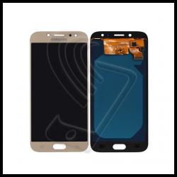 DISPLAY LCD TOUCH SCREEN PER Samsung Galaxy J7 2017 SM-J730F J730 SCHERMO VETRO Colore Oro (Gold)