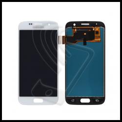 DISPLAY LCD TOUCH SCREEN PER Samsung Galaxy S7 SM-G930F G930 SCHERMO VETRO Colore Bianco (White)