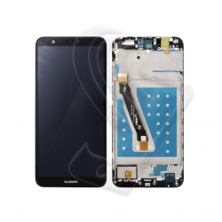 DISPLAY LCD VETRO TOUCH FRAME Huawei P Smart FIG-LX1 FIG-L21 SCHERMO Nero