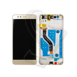DISPLAY LCD VETRO TOUCH FRAME Huawei P10 Lite WAS-LX1 WAS-LX1A SCHERMO Oro Gold