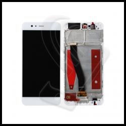 DISPLAY LCD VETRO TOUCH FRAME Huawei P10 VTR-L09 VTR-L10 VTR-L29 SCHERMO Bianco