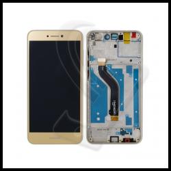 DISPLAY LCD VETRO TOUCH FRAME Huawei P8 Lite 2017 PRA-LA1 PRA-LX1 PRA-LX3 Oro
