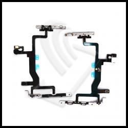 FLEX TASTI ACCENSIONE / VOLUME + Supporto Metallico Per Apple iPhone 6S FLAT POWER SILENZIOSO