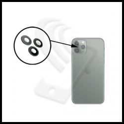 Vetro lente fotocamera con anello integrato per Apple iPhone 11 Pro Max verde