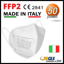 Mascherine FFP2 Bianca Fas 50 pezzi MADE IN ITALY