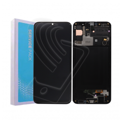 DISPLAY LCD ORIGINALE Samsung Galaxy A30S SM A307F TOUCH SERVICE PACK + FRAME
