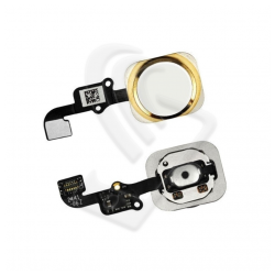 TASTO CENTRALE HOME BUTTON Per Apple iPhone 6 / 6 PLUS FLEX Oro (Gold)