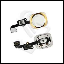 TASTO CENTRALE HOME BUTTON iPhone Per Apple 6S / 6S PLUS FLEX Oro (Gold)