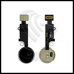 Touche Central Home Bouton JC Universel Pour Apple IPHONE 7 7P 8 8P Se Flat Flex Couleur Noir (Black)