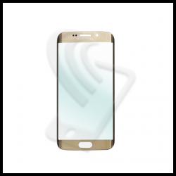 VETRO FRONTALE Samsung Galaxy S6 Edge G925F RIGENERAZIONE DISPLAY LCD Oro / Gold