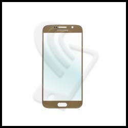 VETRO FRONTALE Samsung Galaxy S6 G920F RIGENERAZIONE DISPLAY LCD Oro / Gold