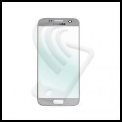 VETRO FRONTALE Samsung Galaxy S7 G930F RIGENERAZIONE DISPLAY LCD Argento / Silver