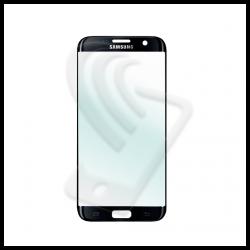 VETRO FRONTALE Samsung Galaxy S7 Edge G935F RIGENERAZIONE DISPLAY LCD Nero Black