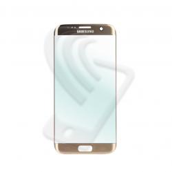 VETRO FRONTALE Samsung Galaxy S7 Edge G935F RIGENERAZIONE DISPLAY LCD Oro Gold