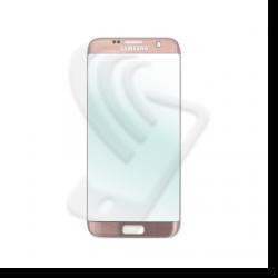 VETRO FRONTALE Samsung Galaxy S7 Edge G935F RIGENERAZIONE DISPLAY LCD Rosa Pink
