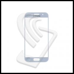 VETRO FRONTALE Samsung Galaxy A3 2017 A320F RIGENERAZIONE DISPLAY LCD Bianco