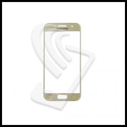 VETRO FRONTALE Samsung Galaxy A3 2017 A320F RIGENERAZIONE DISPLAY LCD Oro Gold