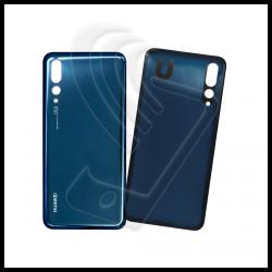 VETRO POSTERIORE Per Huawei P20 PRO BACK COVER Blu (Midnight Blue)