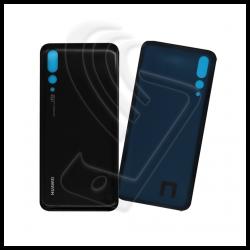 VETRO POSTERIORE Per Huawei P20 PRO BACK COVER Nero (Black)
