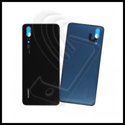 VETRO POSTERIORE SCOCCA Per Huawei P20 EML-L09 L29 BACK COVER COPRI BATTERIA Colore Nero (Black)