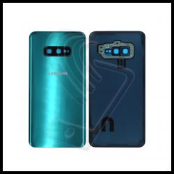 VETRO POSTERIORE SCOCCA + lente fotocamera PER Samsung Galaxy S10e G970F BACK COVER Verde