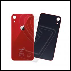 Scocche vetro posteriore big hole per iPhone XR rosso