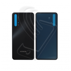 Vetro posteriore back cover per Huawei Honor 20 nero